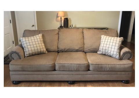 Sofa, chair & Ottoman